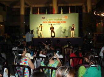 エイズに対する意識向上を目的とした音楽イベント